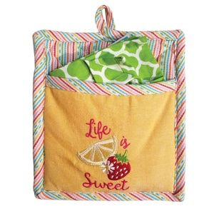 Kay Dee Designs Kitchen - 🆕Kay Dee Designs Life is Sweet Pocket Mitt Set